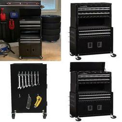 "Rolling Tool Chest Storage Cabinet On Wheels 20"" Mechanic Ga"