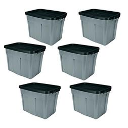 Rubbermaid Roughneck 18 Gallon Storage Tote/Bin Organizer in