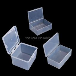 Round Clear Plastic <font><b>Containers</b></font> Beads Cra