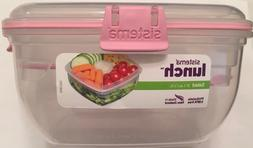 Sistema Salad To Go 37.1 oz / 1.1L Lunch Box, Tray & Cutlery