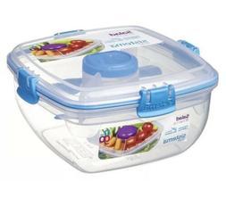 Sistema Salad To Go 37.1oz. Salad Lunch Box BPA Free W Remov