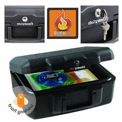 Sentry Fire Safe Chest Fireproof Security Lock Money Cash Do