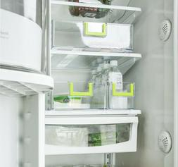 Set of 3 Kitchen Refrigerator Box Storage Organizer Freezer