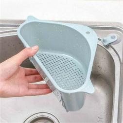 Kitchen Sink Corner Rack Triangle Storage Drain Strainer Hol