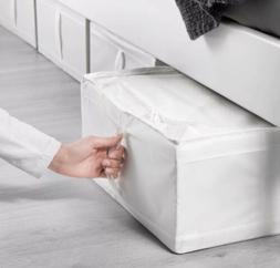 """Ikea Skubb Storage Box 17.25x21x7.5"""" New Conceal Storage U"""