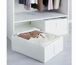 IKEA Skubb Underbed Storage Box, White, 2 Pack