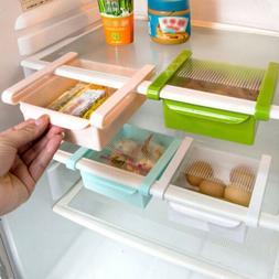 Slide Holder Box Fridge Space Saver Organizer Storage Rack K