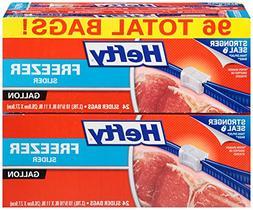 Hefty Slider Gallon Freezer Bags - 1 Gallon