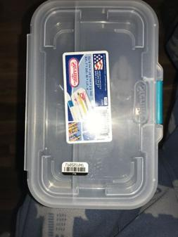 small clear divided storage container box 1724