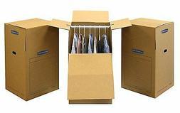Bankers Box SmoothMove Wardrobe Moving Boxes, Tall, 24 x 24