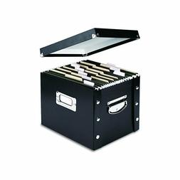 Snap-N-Store Letter-Size File Box Black