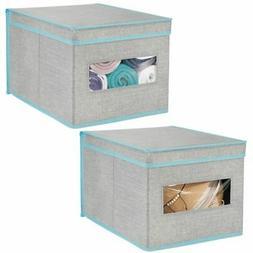fabric closet storage organizer bin box large