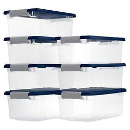 Sterilite 6 Quart/5.7 Liter Clearview Latch Box, Clear with