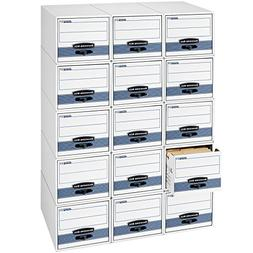 Bankers Box STOR/DRAWER STEEL PLUS Extra Space-Saving Filing