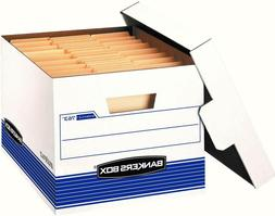 Bankers Box Stor/File Medium-Duty Storage Boxes with Lift-Of