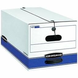 Bankers Box STOR/File Medium Duty Storage Boxes, FastFold, S