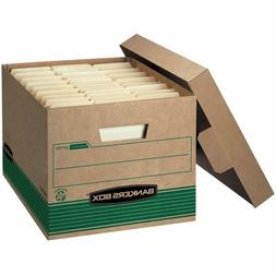 Bankers Box Stor/File Medium-Duty Storage Boxes, Fastfold, L