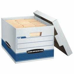 Bankers Box Stor/File Medium-Duty Storage Boxes, Quick Set-U