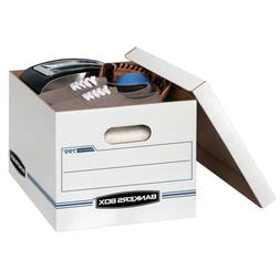 Bankers Box Stor/file Storage Box with Lift-Off Lid Letter/l