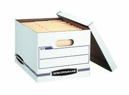 Bankers Box Stor/File Storage Box with Lift-Off Lid, Letter/