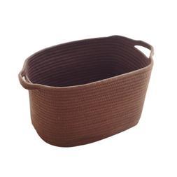 Storage Basket Cotton Rope Woven Nursery Bins Kid's Toy Laun
