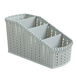 Storage Basket Plastic Box Bin Clothes Container Organizer H