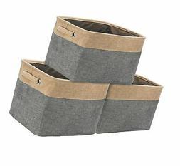 Sorbus Storage Large Basket Set  - 15 L x 10 W x 9 H - Big R