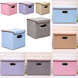 storage bins organizer fabric cube box shelf
