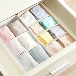 Storage Box Clothing Organizer Underwear Box 5 Grid Storage