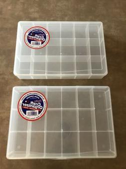 Storage box organizer bead craft screws nuts bolts  Darice 1