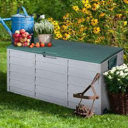 Mcombo Storage Box Outdoor Patio Backyard Garden Tool Box Co