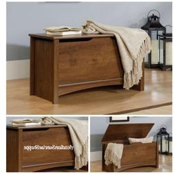 storage chest oiled oak finish home furniture