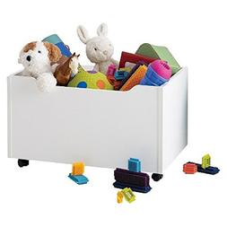 Circo Storage Chest with Wheels and Inside Panels - Soft Whi
