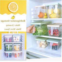 Storage Collecting Box Basket Kitchen Refrigerator Fruit Foo