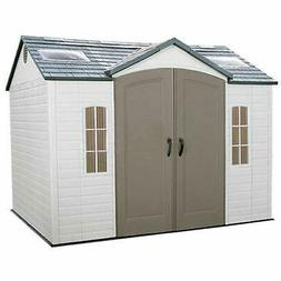 Storage Shed Side Entry with Windows, 10' x 8'
