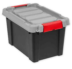 IRIS 5 Gallon Store-it-All Heavy Duty Stackable Utility Tote