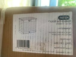Keter 226814 Store-It-Out MAX 4.8 x 2.7 Outdoor Resin Horizo