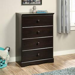 Sauder Storybook 4-Drawer Dresser, Jamocha Wood