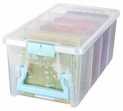 ArtBin Super Semi-Satchel-Clear Art Craft Storage Box 6925AA