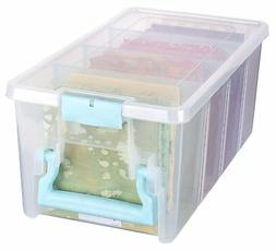 ArtBin Super Semi-Satchel-Clear Art Craft Storage Box 6925AA