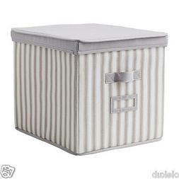 IKEA Svira Box With Lid Gray Storage Organization Closet Hom