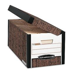 Bankers Box SYSTEMATIC Medium-Duty Storage Boxes, FastFold,