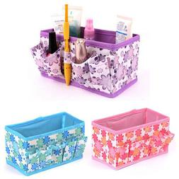 Table Storage Box Cosmetic Underwear Organizer Bag Non-Woven
