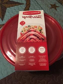 Rubbermaid TakeAlongs Large Serving Bowls Food Storage Conta