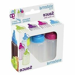 Sistema To Go Collection Sauce Squeeze Bottle, 1.1 oz./32.5