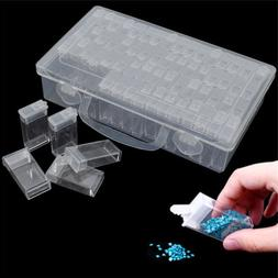 Transparent embroidery Diamond Painting Storage Box  Beads R