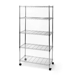 UltraZinc Home Style Wire System 60 H 5 Shelf Shelving Unit