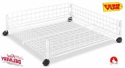 Under Bed Storage Organizer Hidden Container Bins With Wheel