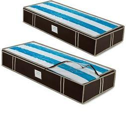 Underbed Storage Bag Organizer  Large Capacity Storage Box f