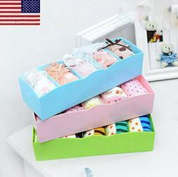Underwear Socks Tie Bra Glove Closet Organizer Storage Box D
